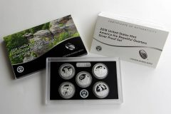 2016 America the Beautiful Quarters Silver Proof Set Photo