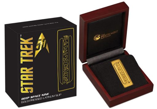 2016 Gold-Pressed Latinum Slip, Case and Packaging