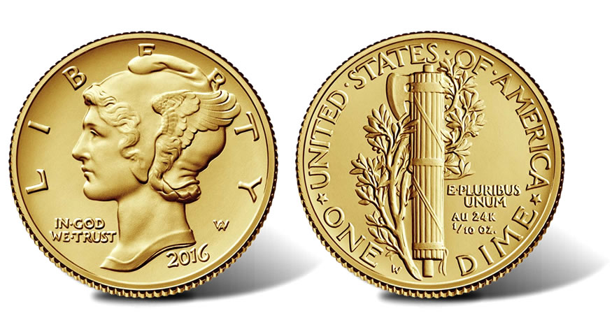 2016 10c 25c And 50c Centennial Gold Coin Pricing