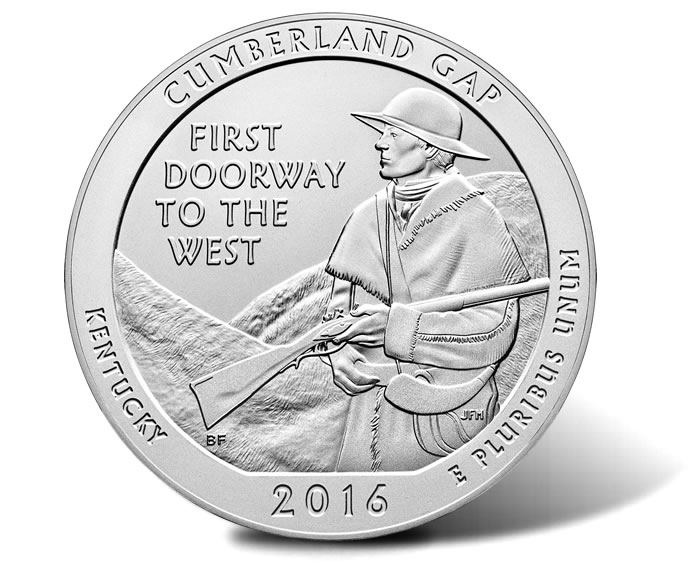2016 Cumberland Gap 5 Oz Silver Uncirculated Coin Released | Coin News