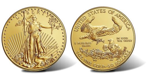 2016-W $50 Uncirculated American Gold Eagle