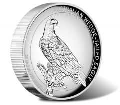 2016 Wedge-Tailed Eagle Silver Proof High Relief Coin
