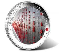 ANZAC Spirit 100th Anniversary 2016 First Anzac Day Silver Proof Coin