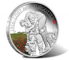 ANZAC Spirit 100th Anniversary 2016 Lost But Not Forgotten Silver Proof Coin