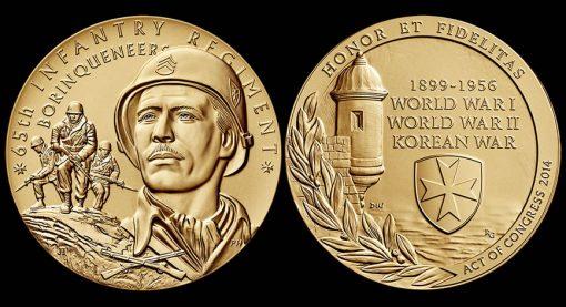 Borinqueneers medal