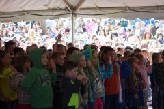 Children are sworn in as Junior Rangers