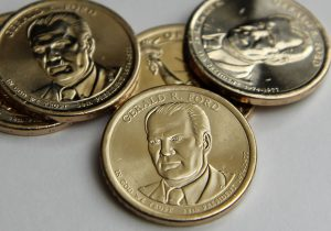 US Coin Production in March; Gerald Ford $1 Mintages Revealed