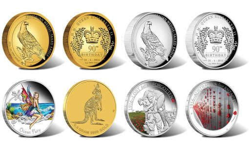 Perth Mint Australian Coin Releases for April