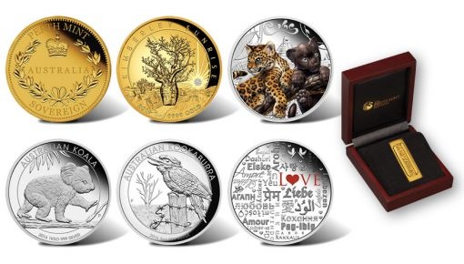 Perth Mint Australian Coin Releases for May