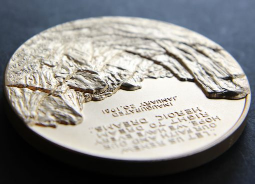 Ronald Reagan Bronze 3-inch Medal, Reverse Side