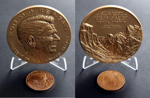 Ronald Reagan Bronze Medals