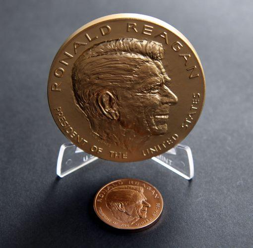 Ronald Reagan Bronze Medals, Obverses