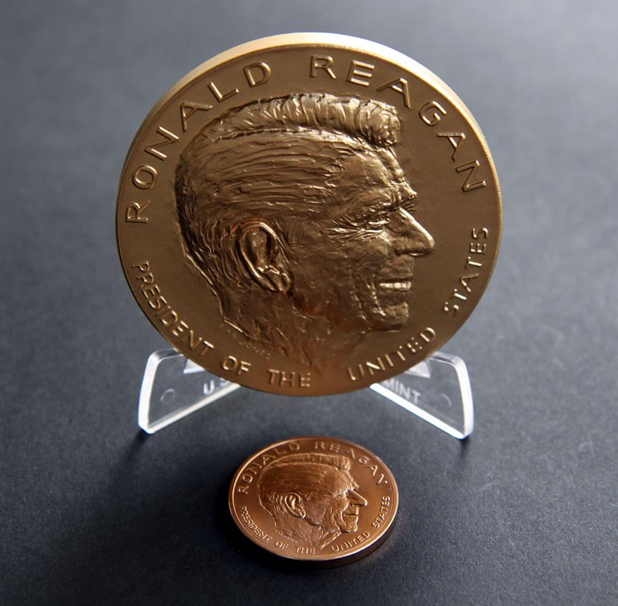 1981 ronald reagan coin