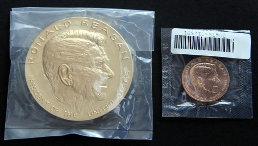 Ronald Reagan Bronze Medals, Outer Wrapping
