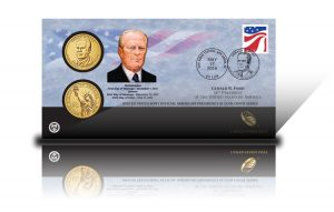 2016 Gerald R. Ford $1 Coin Cover