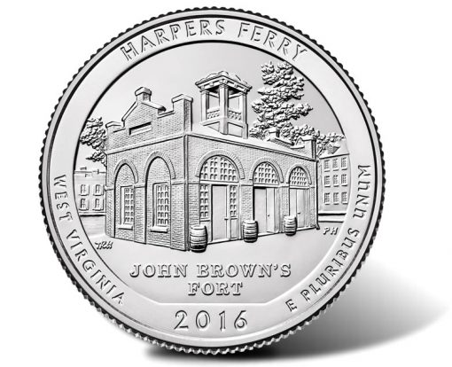 2016 Harpers Ferry National Historical Park Quarter