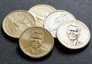 2016 Ronald Reagan Presidential $1 Coins