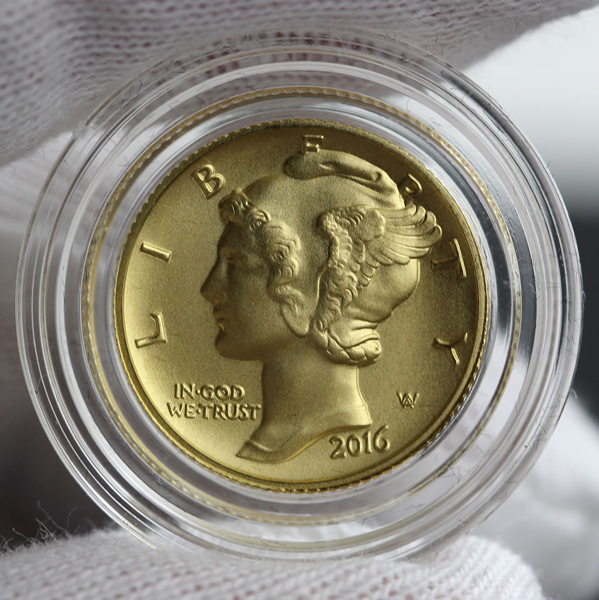 2016 Mercury Dime Centennial Gold Coin Photos Coin News