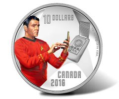 Canadian 2016 $10 Scotty Silver Coin