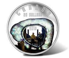 Canadian 2016 $20 The City on the Edge of Forever Silver Coin