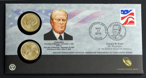 Photo of 2016 Gerald R. Ford $1 Coin Cover