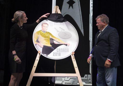 Star Trek Kirk Coin Launch Photo