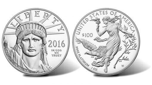 2016-W $100 Proof American Platinum Eagle