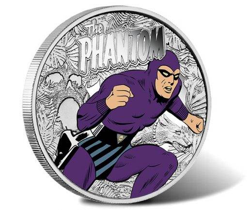 80th Anniversary of The Phantom 2016 1oz Silver Medallion