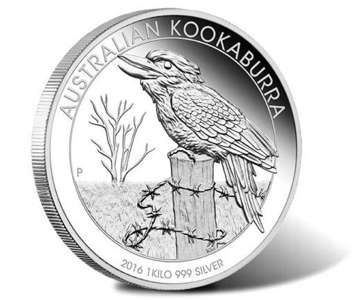 Australian Kookaburra 2016 1 Kilo Silver Proof Coin