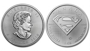 Canadian 2016 $5 Superman 1 oz Silver Bullion Coin Released
