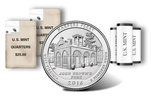 Harpers Ferry National Historical Park quarters, rolls and bags