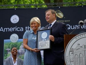 Harpers Ferry Quarter Launch Ceremony Highlights