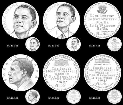 Obama Presidential Medal Design Candidates