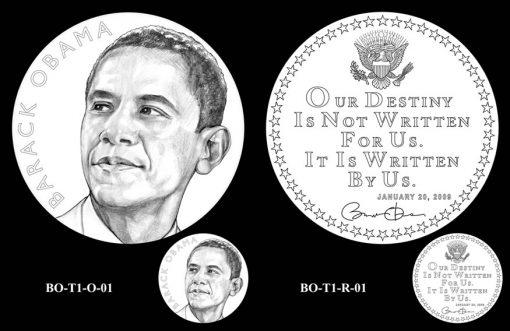 Obama Presidential Medal Designs, First Term