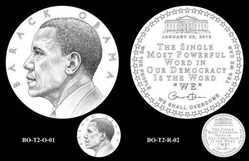 Obama Presidential Medal Designs, SecondTerm