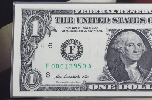 Series 2013 $1 note