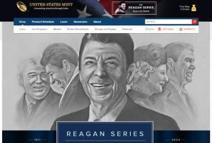 US Mint Series Chronicles the Life of Ronald Reagan