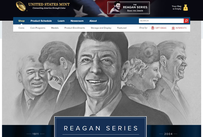 US Mint and Reagan Series