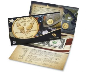 2016 American $1 Coin and Currency Set Release