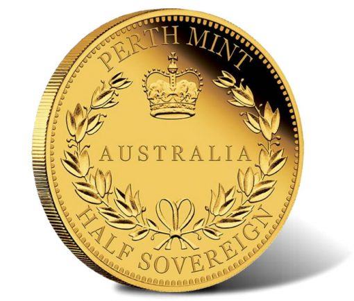 2016 $15 Australia Half Sovereign Gold Proof Coin