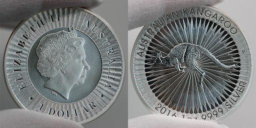 2016 Australian Kangaroo Silver 1 oz Bullion Coin