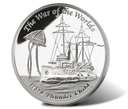 2016 HMS Thunder Child 1 oz Silver Proof Coin