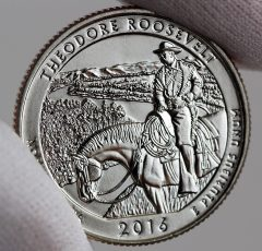 2016 Theodore Roosevelt National Park ATB Coin