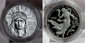 2016-W $100 Proof-American Platinum Eagle