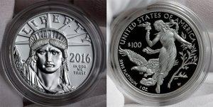 2016-W $100 Proof-American Platinum Eagle