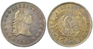Heritage to Auction Double Plug 1795 Silver Dollar