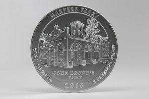 US Mint Sales: Harpers Ferry 5 oz Coin and 3-Coin Set Debut
