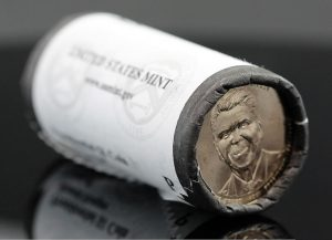 Roll of 2016-P Ronald Reagan Presidential $1 Coins