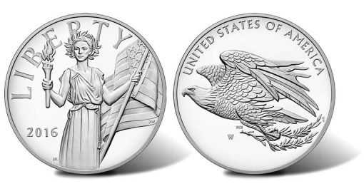 2016 American Liberty Silver Medal
