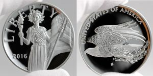 2016 American Liberty Silver Medal, Obverse and Reverse